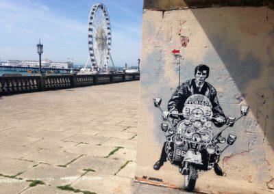 Quadrophenia, Brighton, 2016 @JefAérosol